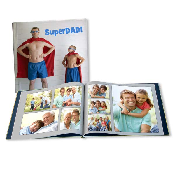 Give Dad the gift of memories this Father's Day with our fully customized memory albums.