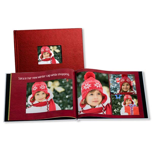 Customize a photo book full of your most beloved holiday memories with family and friends.