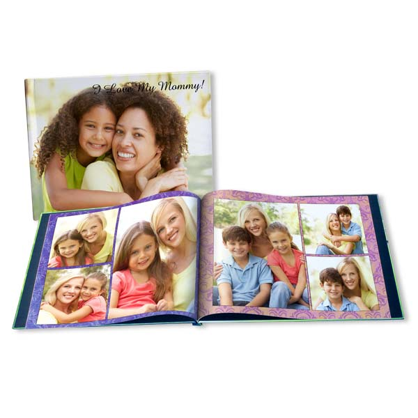 Show Mom your love and create a fully customized memory book for her this Mother's Day.