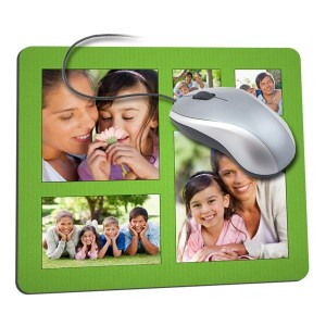 For the ultimate customized office accessory, customize your own mousepad with your favorite digital photos.