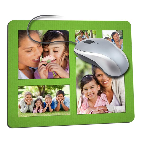 Personalized mouse pads are great for everyone in the family!