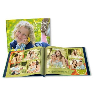 Our Spring photo books are perfect for showing off your favorite, colorful springtime memories.