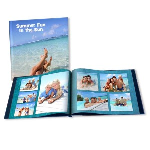 Showcase your favorite summer fun photos with our custom summer photo books.