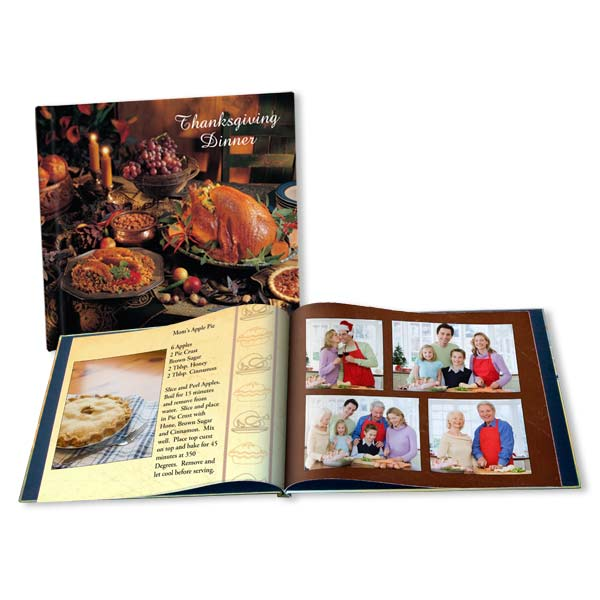 Commemorate your Thanksgiving photos with our fully customized Thanksgiving photo book.