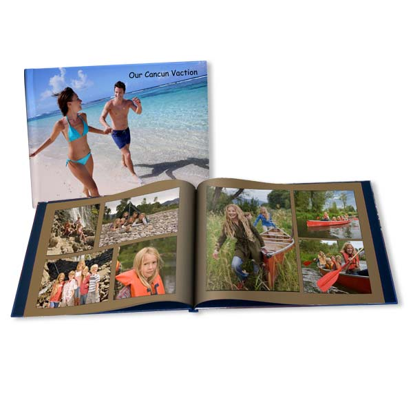Customize your own vacation photo book and relive your best vacation memories time and again.