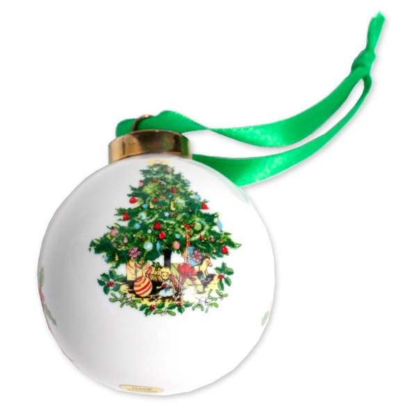 Customize your own classic ball Christmas ornament with a cherished photo.