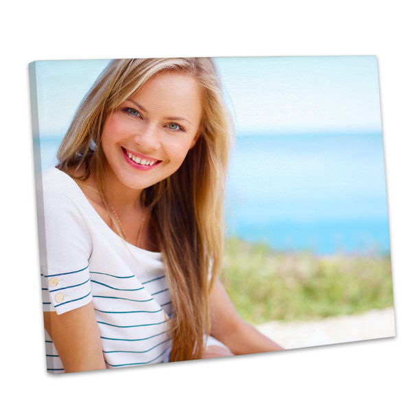 Transform any wall into a gallery of memories with our custom gallery wrapped photo canvases.