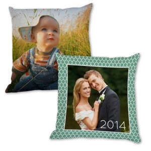 MailPix offers custom made pillows with photos that match the décor in any home.