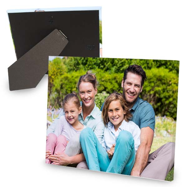 Stand up canvas makes the perfect gift for any family member