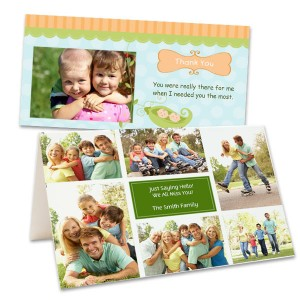 MailPix offers photo card templates that are and fun and easy to customize!