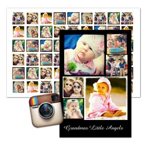 Show off your best Instagram images together in style with a custom Instagram poster.