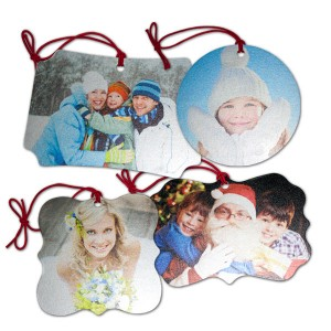 doubled sided Christmas mementos