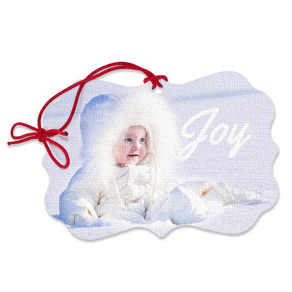 Our scalloped canvas ornaments are perfect for adding character to your Christmas tree this year.