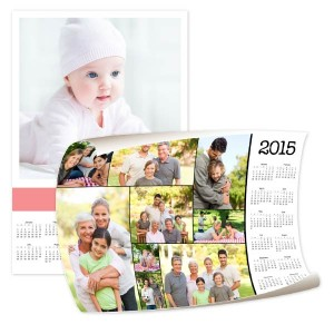 Create your own photo calendar for the new year