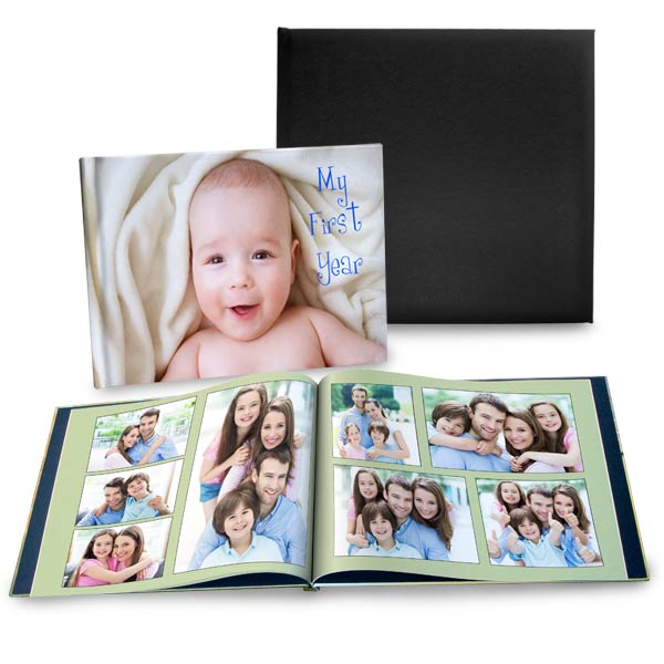 Enjoy affordable prices and a unique custom look with our personalized photo albums.