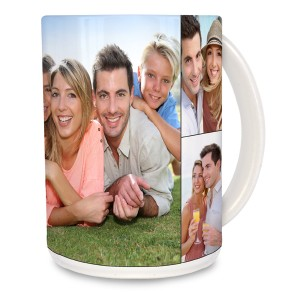 Add a custom flair to your morning routine with our personalized photo mugs.