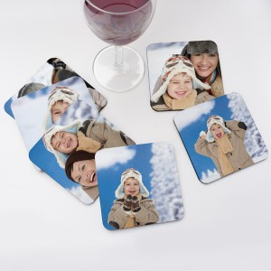 Create Personalized Drink Coasters for your home