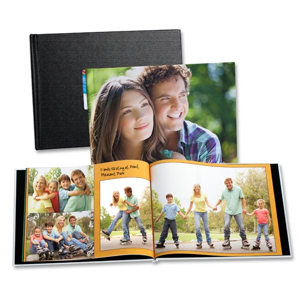Available in a custom printed or window photo cover, our 8x11 books are guaranteed to please.