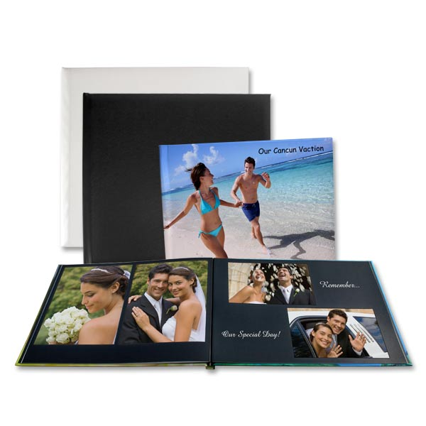 Add interest to your coffee table decor with our custom printed photo books.