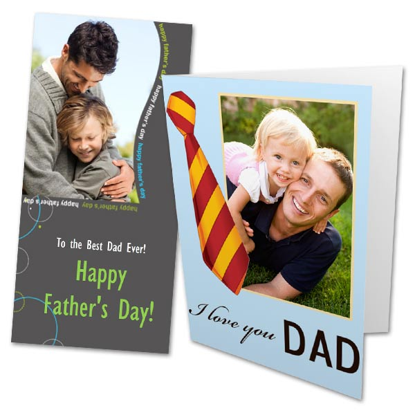 Personalize your own Father's Day greeting and watch Dad's smile light up the room.