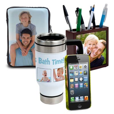 Add a sentimental touch to your Father's Day gift this year with our customized photo products.