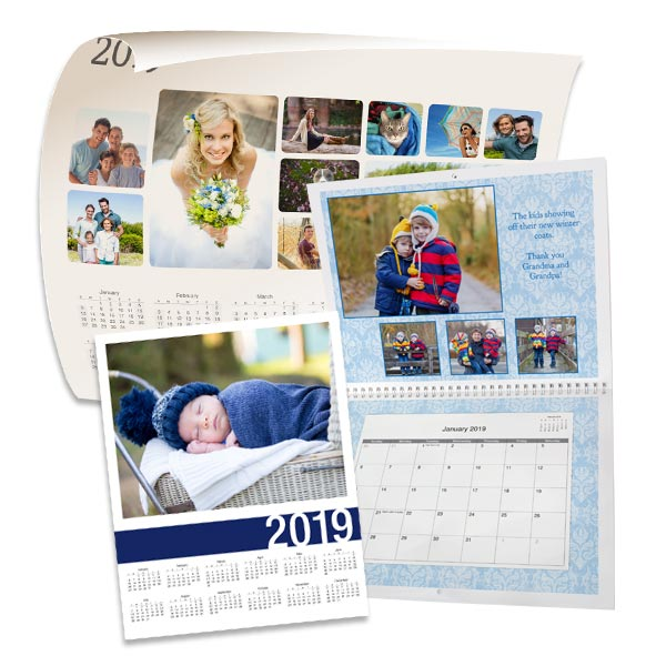 Choose from our variety of templates and create the perfect high quality calendar.