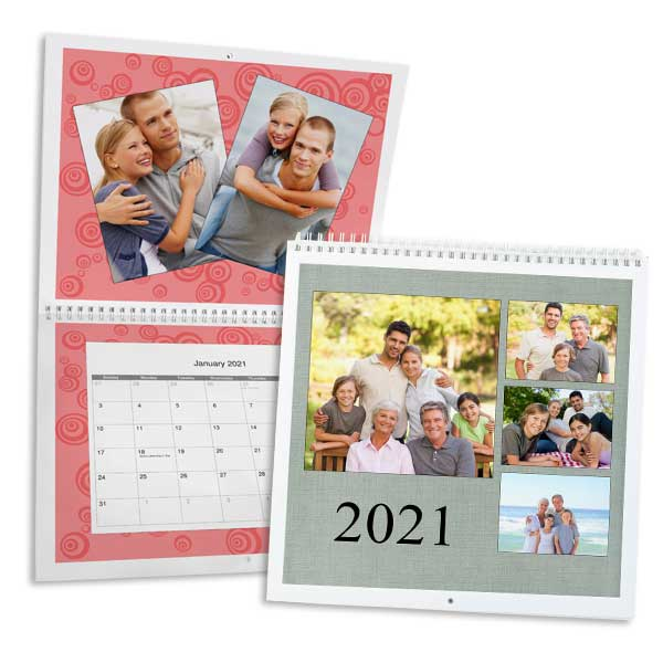 Create custom high quality photo calendars and relive your favorite photos from throughout the year