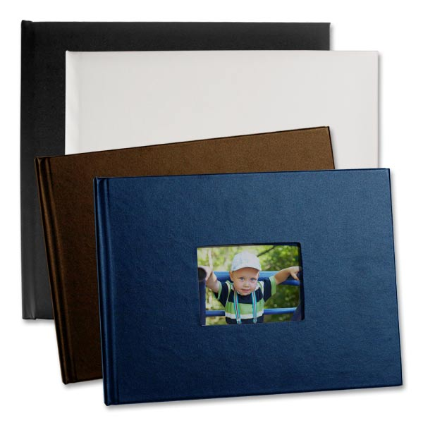 For a truly quality album, you can't lose with our leather photo books available in multiple colors.