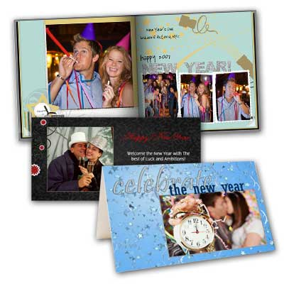 Ring in the New Year and create your own cards or album and while showcasing your favorite photos.