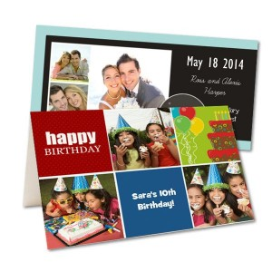 Invite friends and family to your next party with our personalized photo invitations.