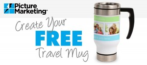 Free FotoZap Travel Mug from MailPix