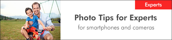 Photo Tips for Experts