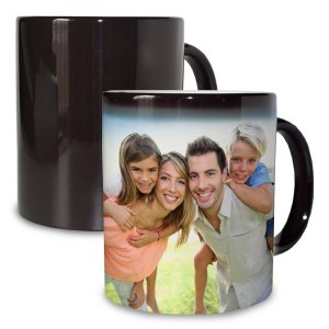 Black Magic Personalized Mug changes color when hot