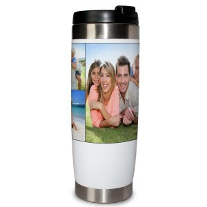 Photo Collage Travel Tumbler Mug , perfect gift for on the go