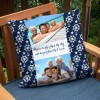 "18x18"" outdoor custom pillow for your deck or patio"