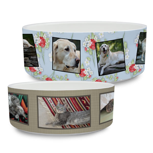 ceramic pet food dishes available in 2 sizes pet bowl bottom
