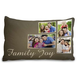 Add interest to your bedroom decor with a personalized photo pillowcase.