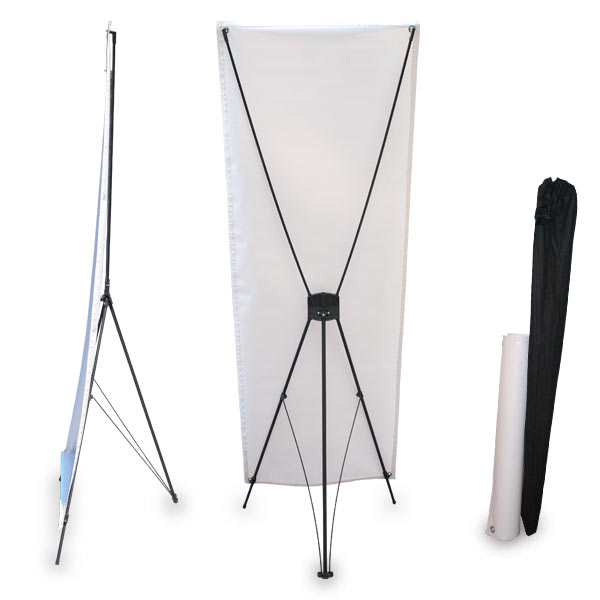 Stand up banner for signs and more easy collapses