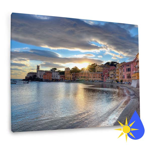 Display your favorite photos on your covered porch or patio with our weather resistant outdoor canvas collection.
