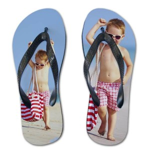 Design your own photo collage and create the ultimate flip flops that are as unique as your own style.