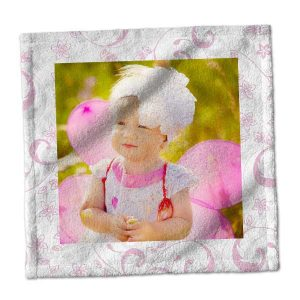 Add a little personality to your daily washing ritual with our photo washcloths.
