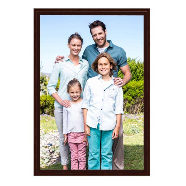 Family portrait professionally framed 20x30 canvas print