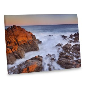 Our sunset ocean canvas print is sure to make waves amongst friends and family.