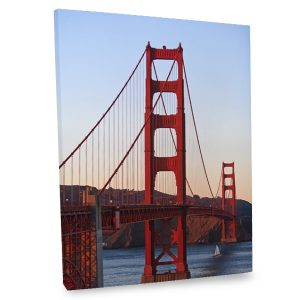 Add the iconic beauty of the Golden Gate Bridge to your decor with our stunning canvas wall decor.