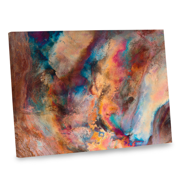 Superieur Add The Beauty Of Stunning Colors To Your Interior Decor With Our Abstract  Photo Canvas.