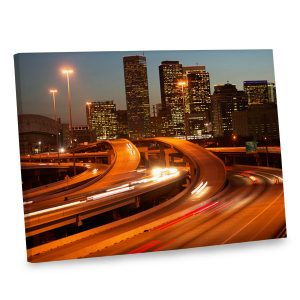 With city scene canvas print you can incorporate both color and sophistication into your decor.