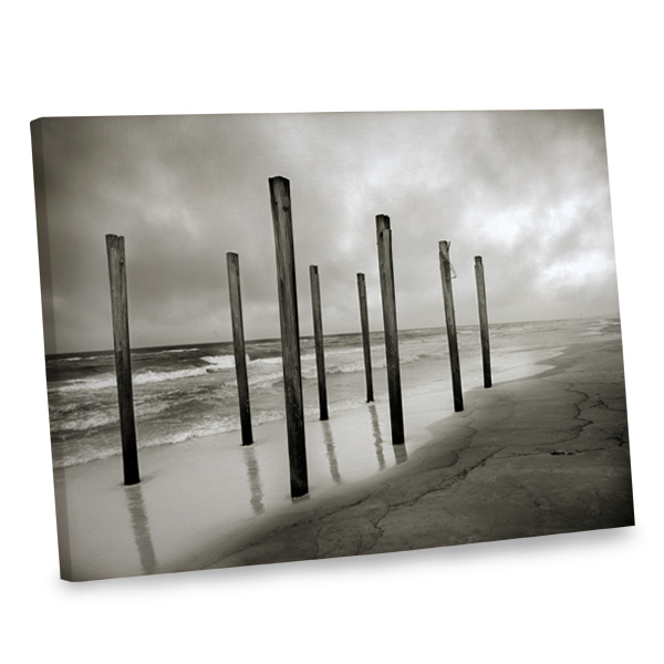 Add a dramatic touch to your home's interior with our stunning dockside canvas print.