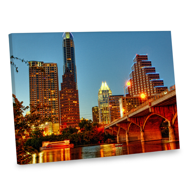 Our cityscape canvas decor will add an elegant flair to any room in your home.
