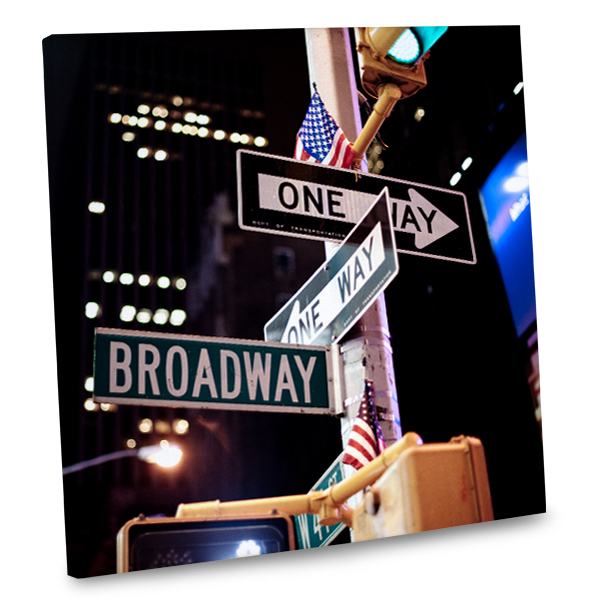 Add the iconic excitement of Broadway to your home decor with our stunning wall canvases.
