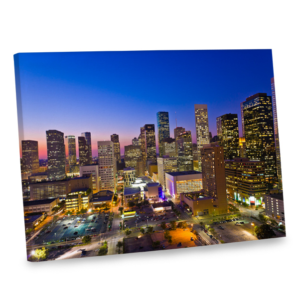 Make a statement with your decor with our gallery wrapped edge canvases.